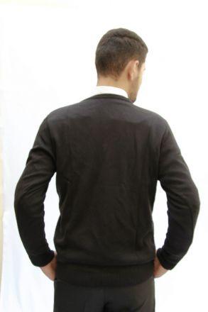 Blusa de Lã Masculina Preta