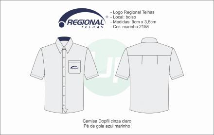 Camisa M. Curta Regional Telhas