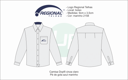Camisa M. Longa Regional Telhas