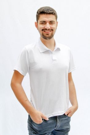 Pólo Masculina Branca