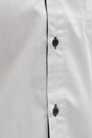 Camisa M. Longa Listrada Cinza