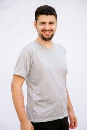 Camiseta Unissex Cinza Mescla