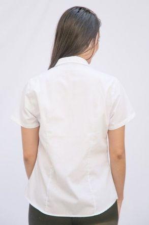 Camisete Manga Curta Branca