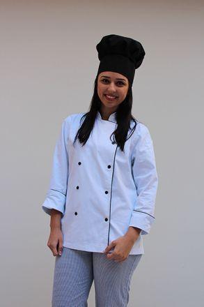Chapéu Chef Preto