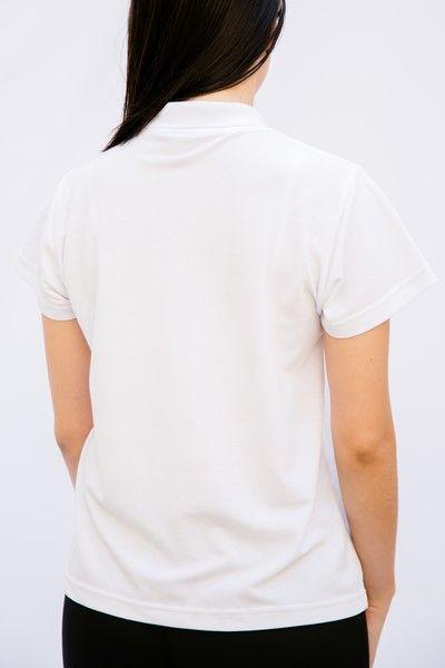 Pólo Feminina Branca