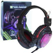 Headfone Soldado Gamer GH-X10 com microfone Luz LED