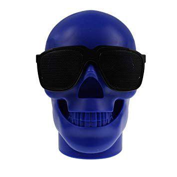 Caixa De Som Portátil Skull CH-M29 Com Bluetooth USB SD RÁDIO FM