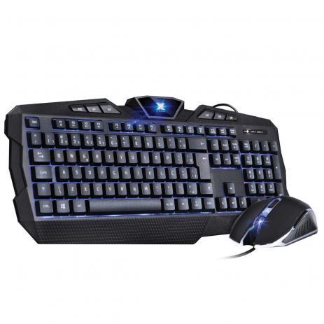 Kit Teclado E Mouse Vx Gaming Avenger Padrão Abnt2 E Mouse 1600 Dpi