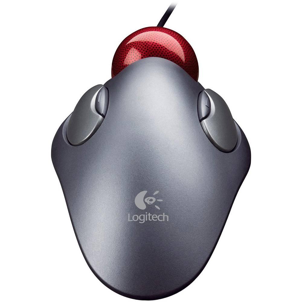 Mouse Óptico Trackman Marble Logitech Usb