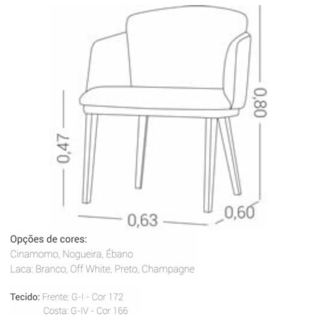 Cadeira com Braço Adri