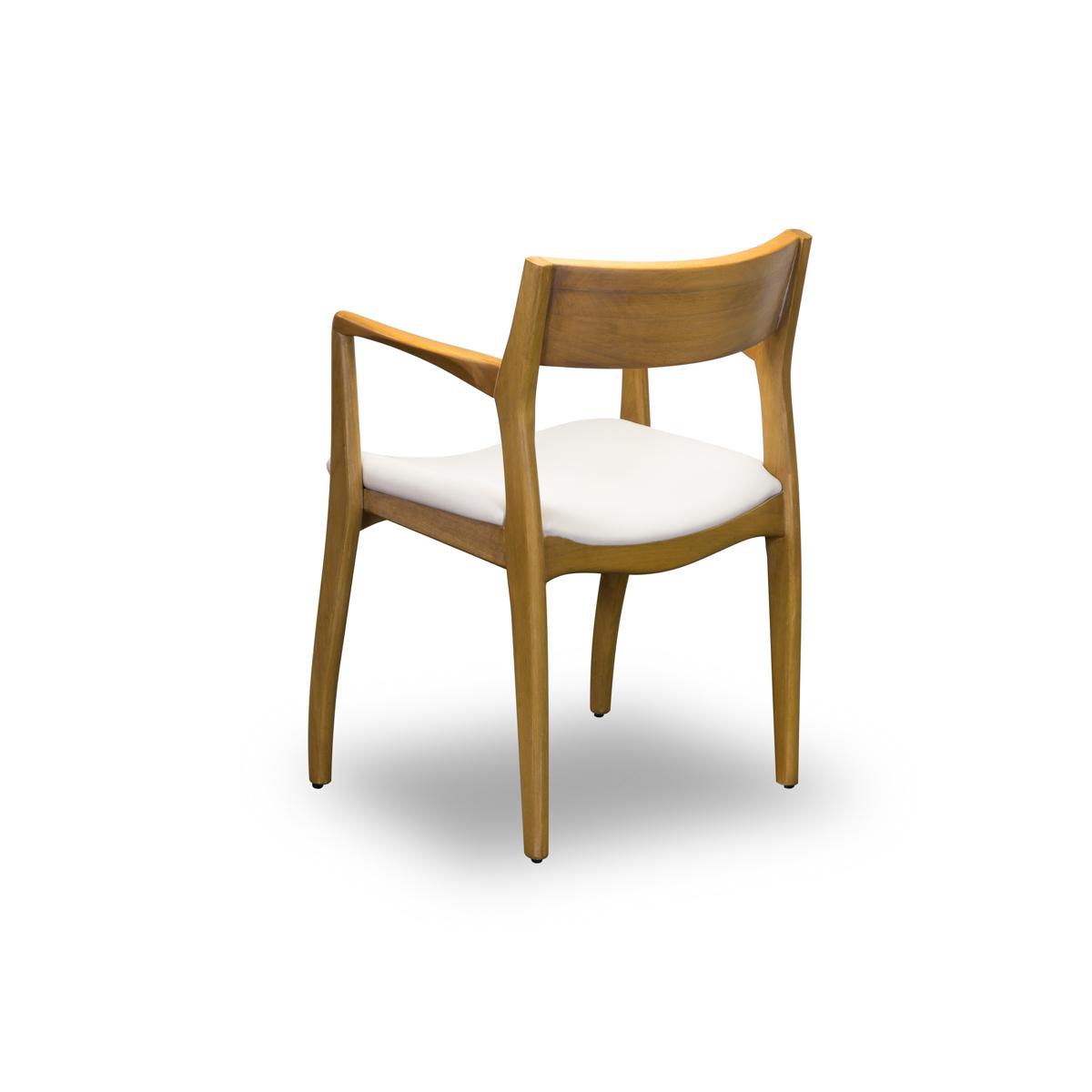 Cadeira de Jantar Com Braço Paris 217  - Formato Móveis e Decorações