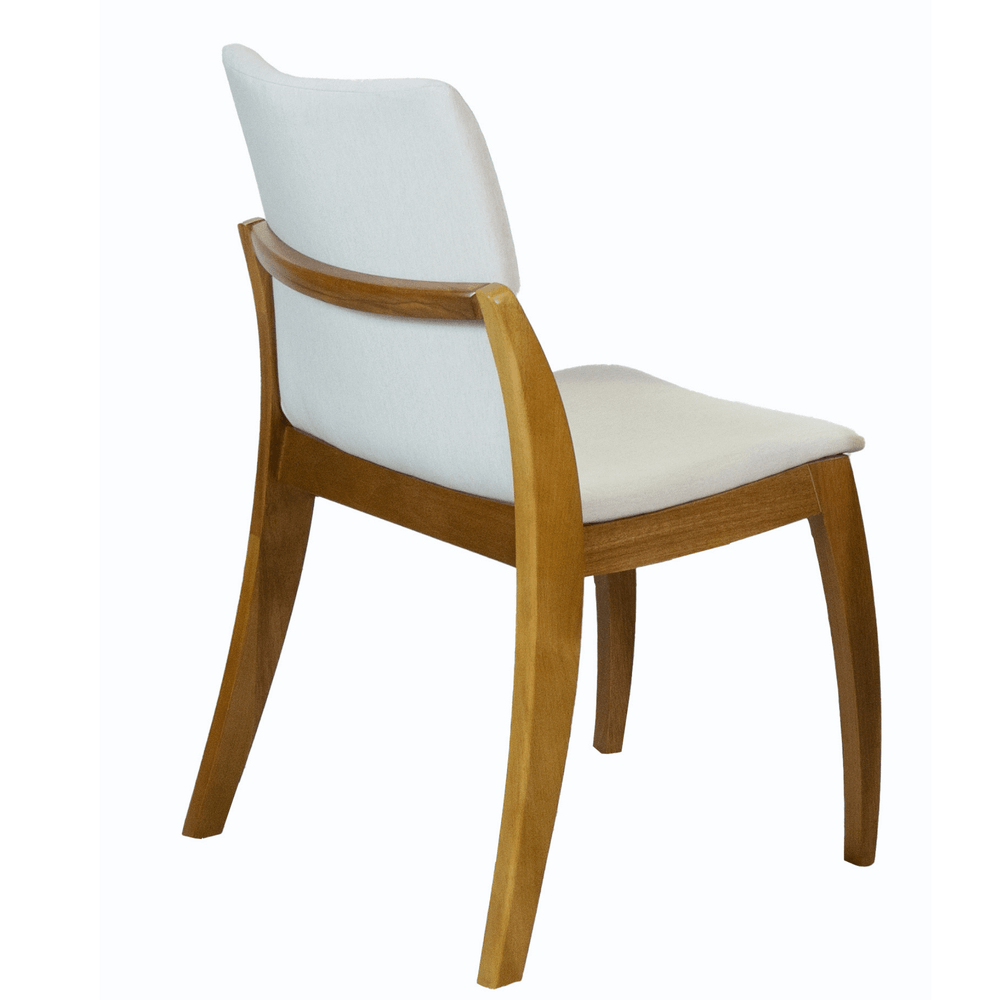 Cadeira de Jantar Mariana Linho Cru
