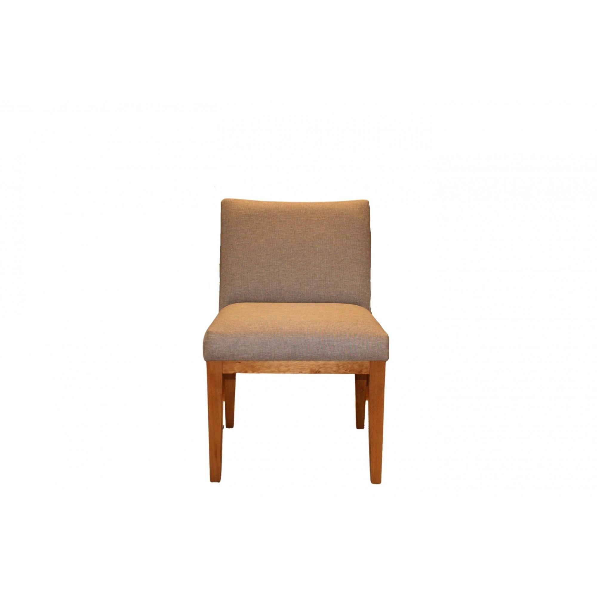 Cadeira Tabit em Tecido Linho CInza