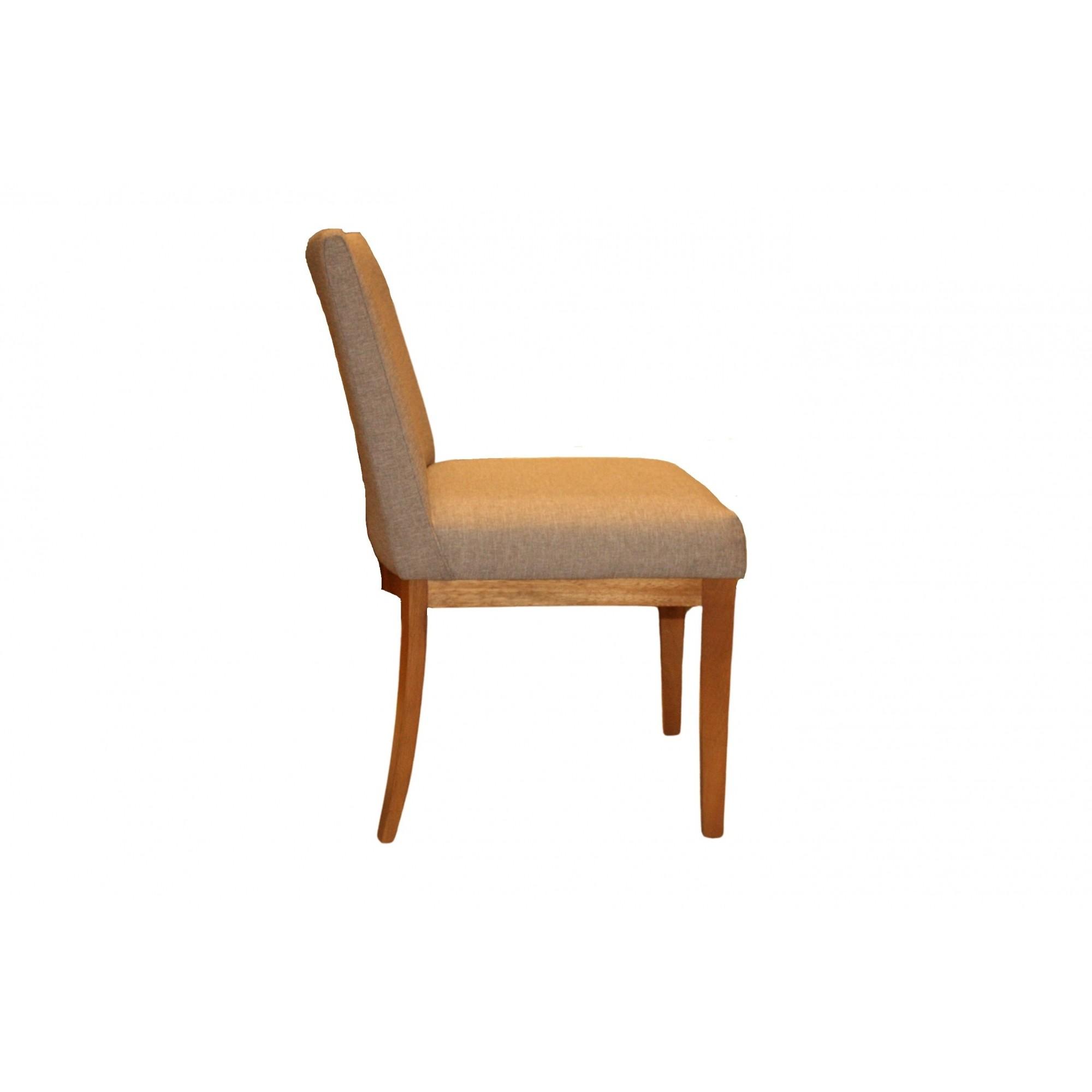 Cadeira Tabit Linho Cinza