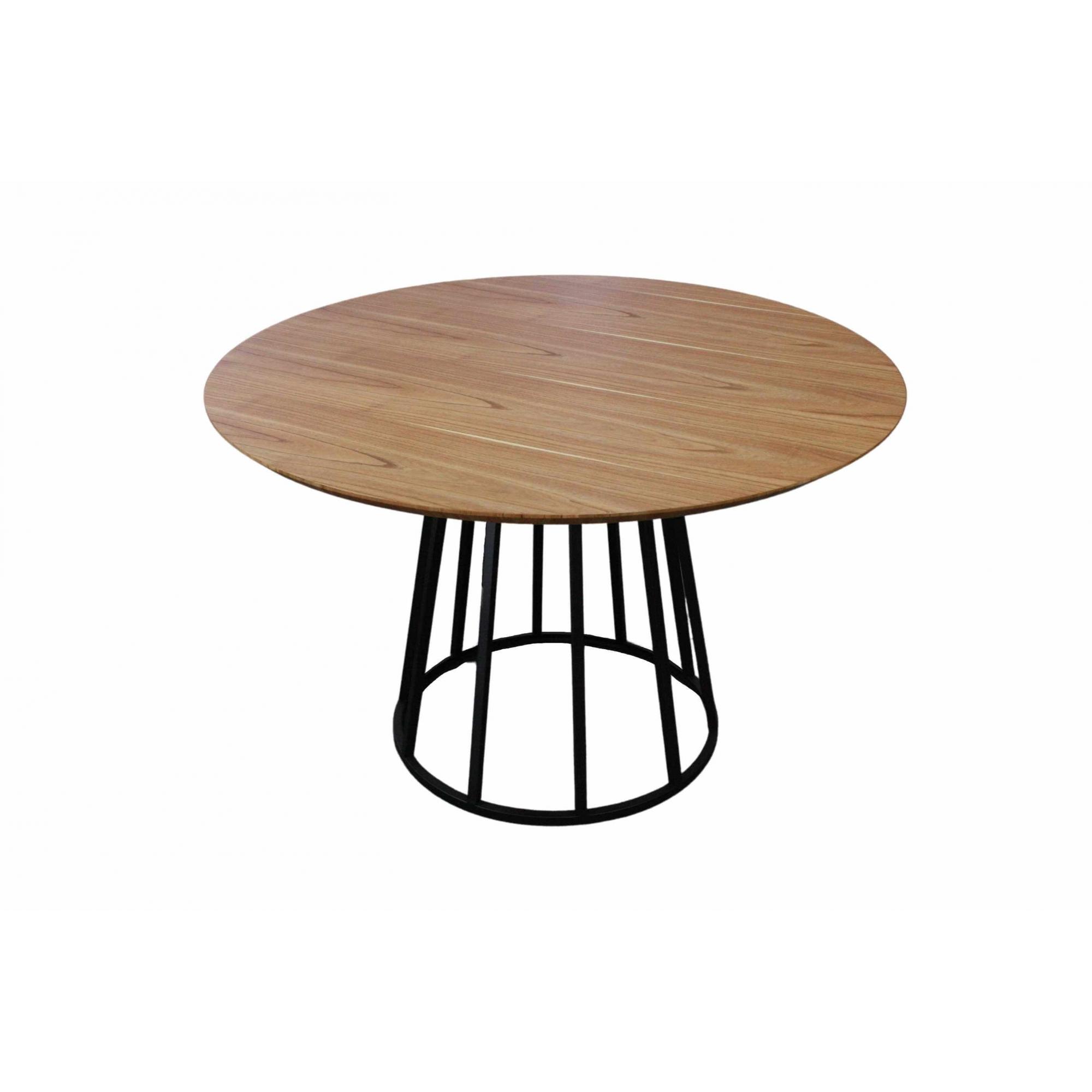 Mesa de Jantar Redonda Lunna Com 4 Cadeiras Ryva