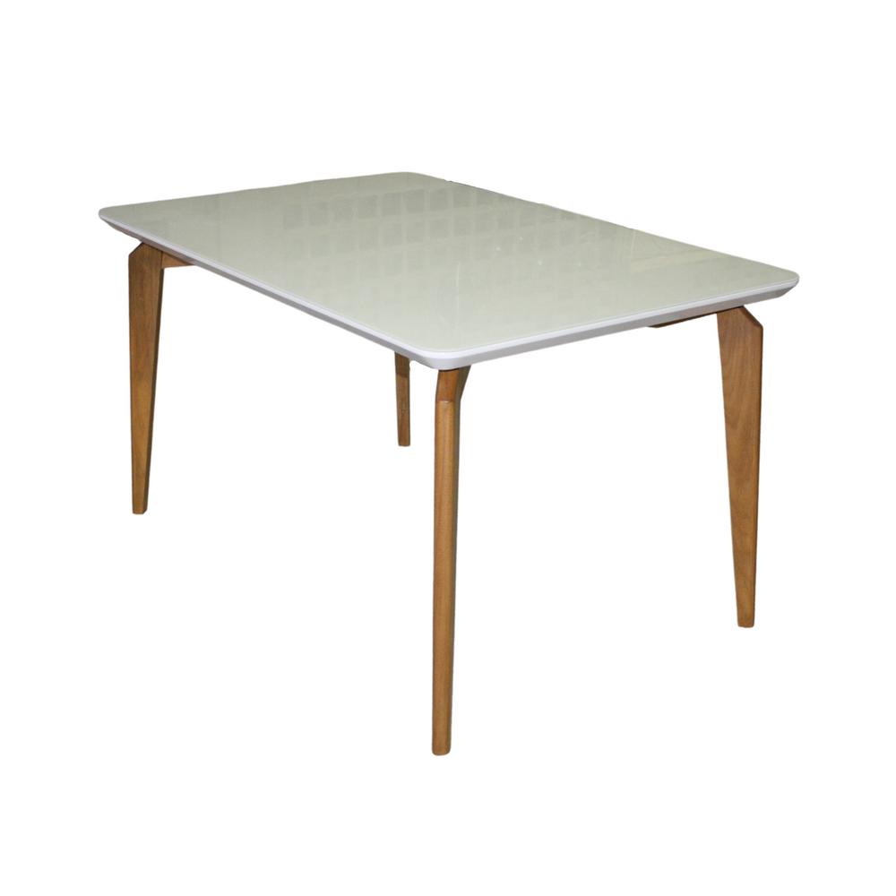 Mesa de Jantar Suécia 120 x 90cm Com 4 Cadeiras Ryva