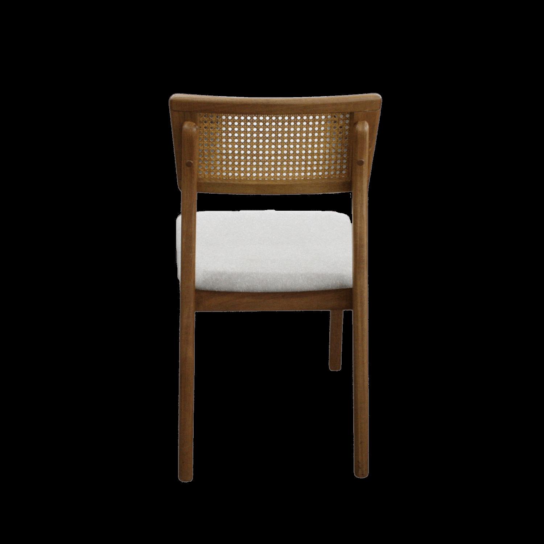 Mesa de Jantar Suécia 160 X 90cm Com 6 Cadeiras Ryva