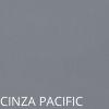 Couro Legítimo Cinza Pacific