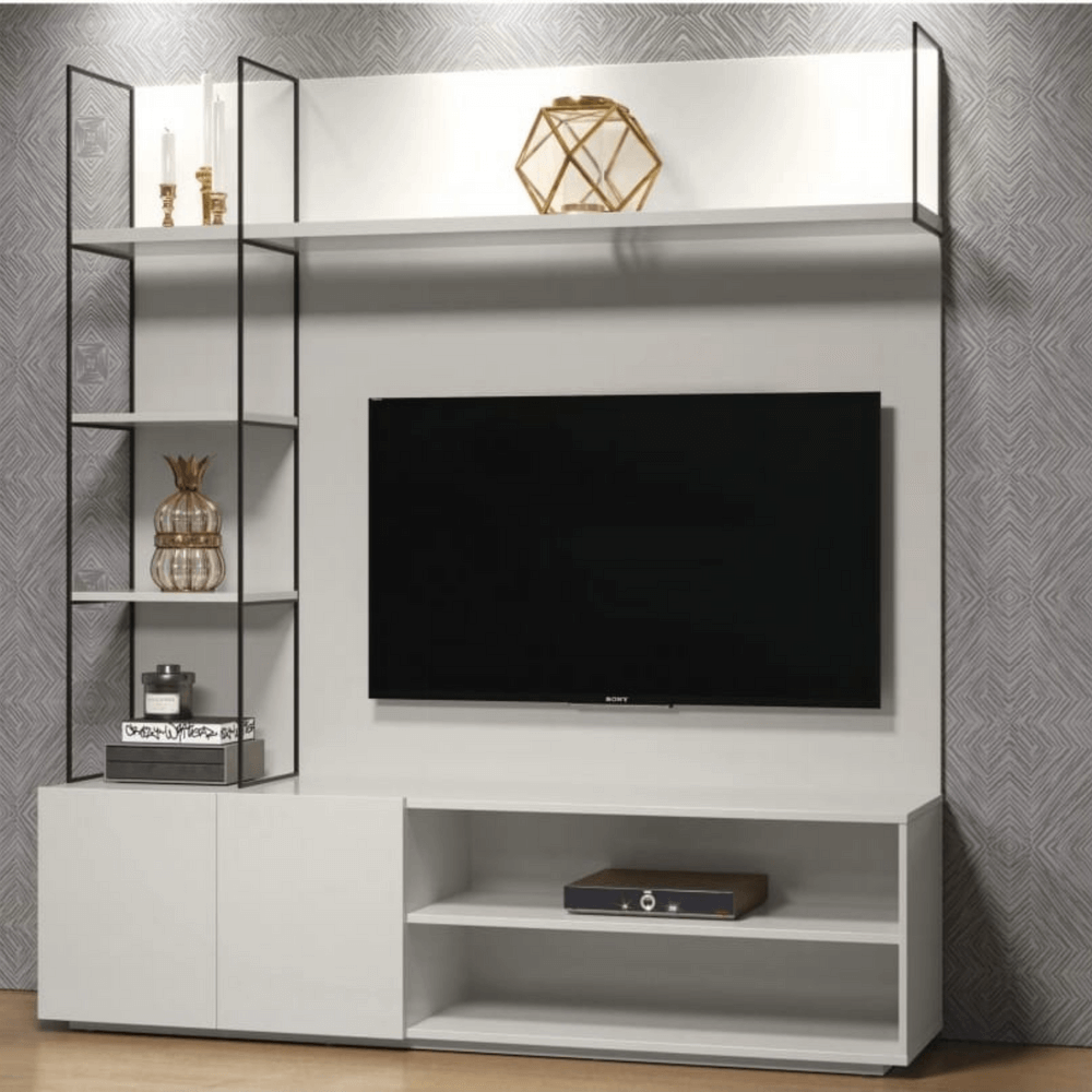 Home Theater Luna Cor Off White