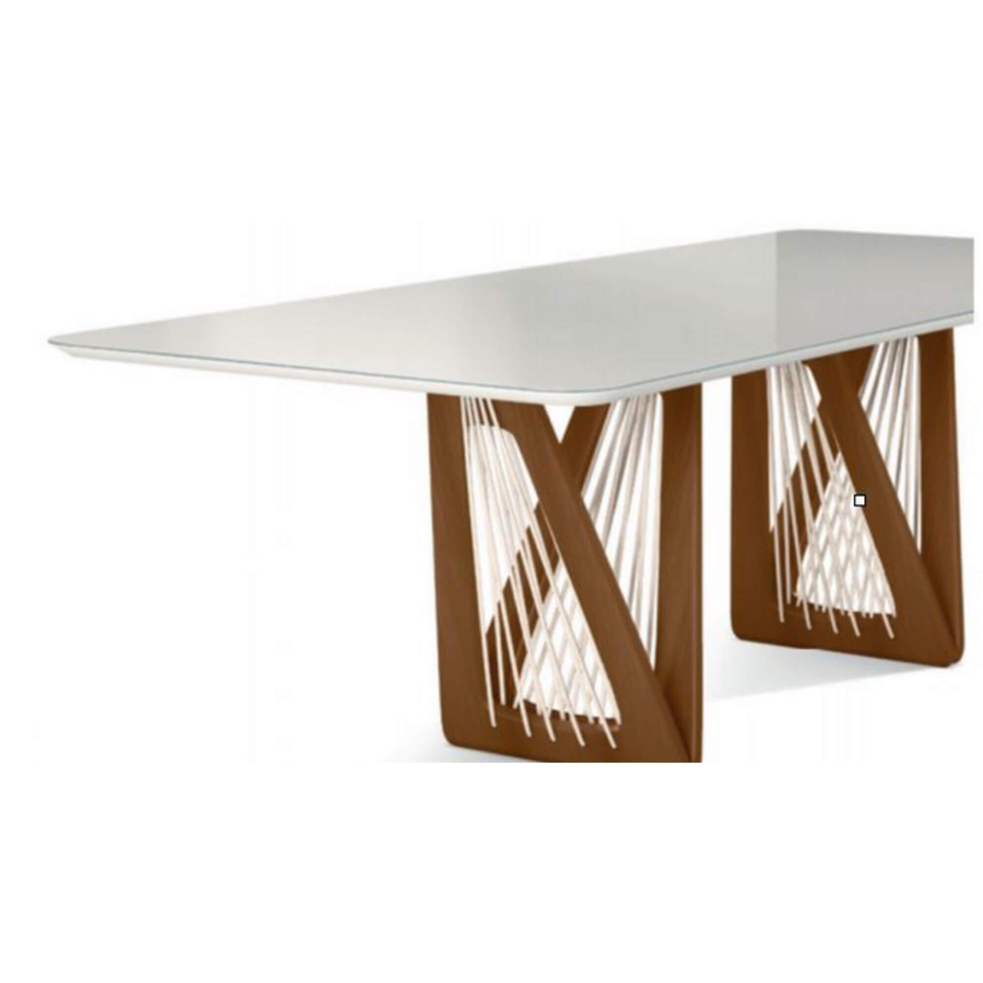 Mesa de Jantar 10 Lugares Califórnia 250 cm x 120 cm