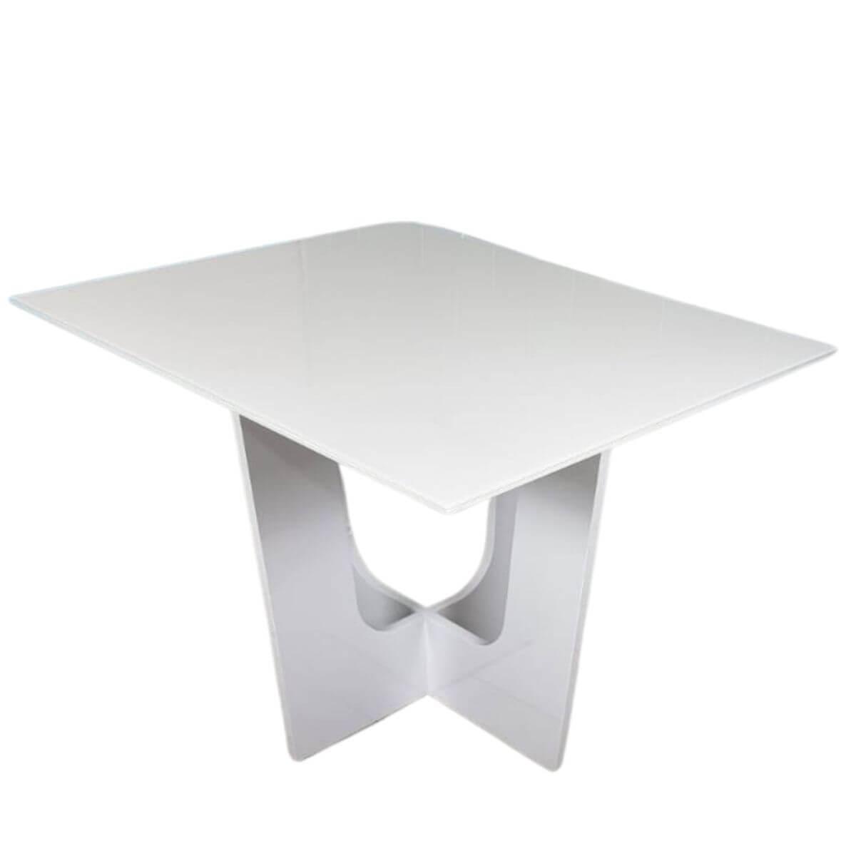 Mesa de Jantar 4 Lugares Espanha Laca Off White