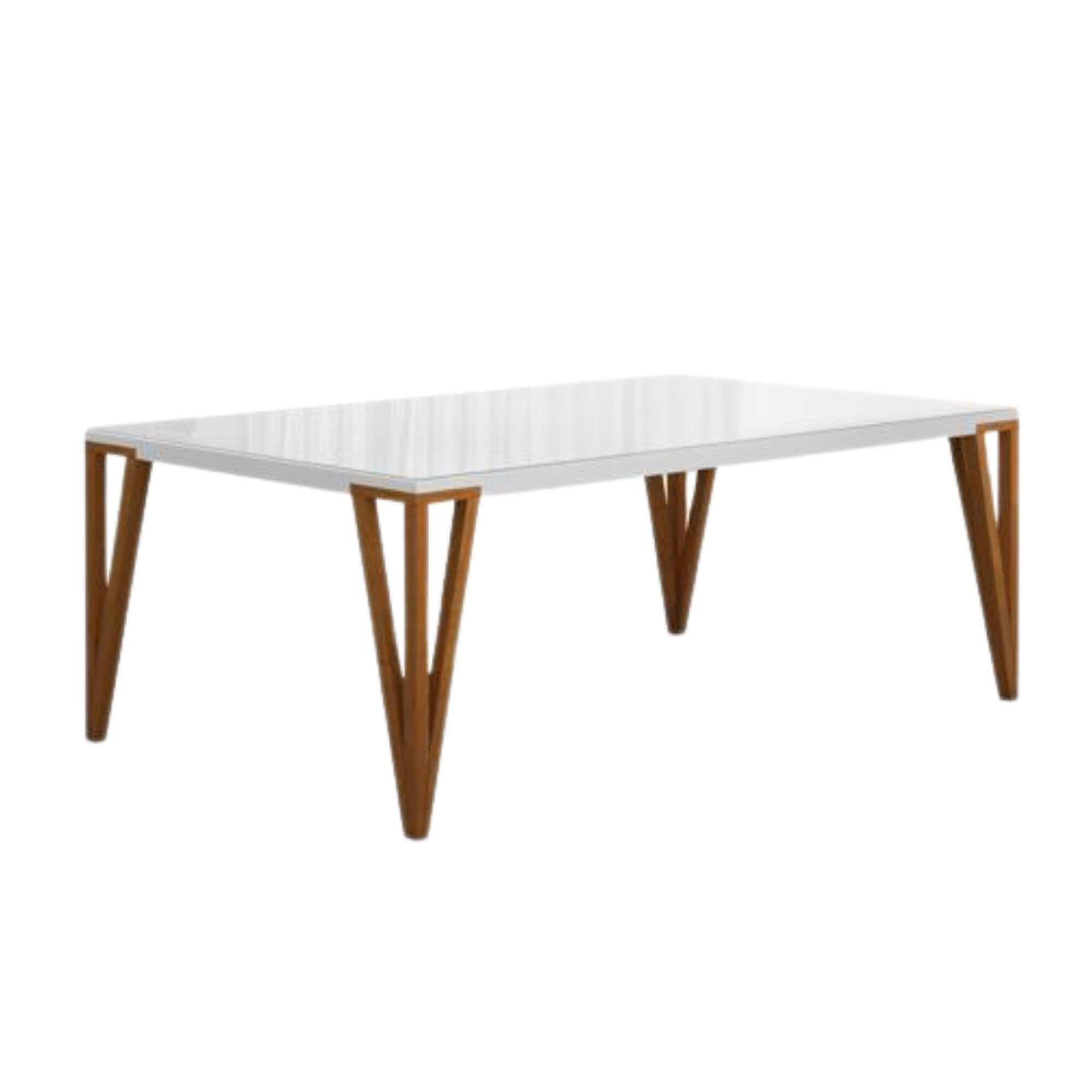 Mesa de Jantar 8 Lugares Oriente 200 cm x 100 cm