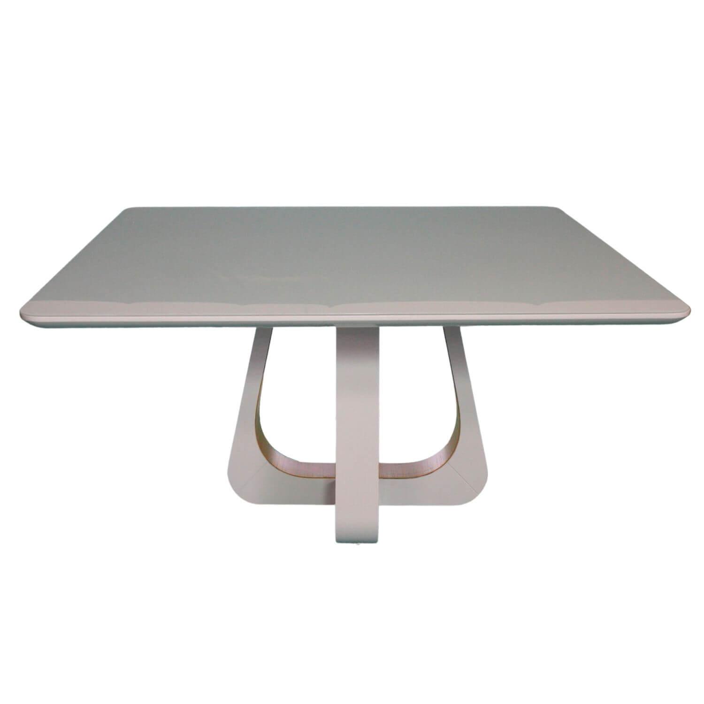 Mesa de Jantar 8 Lugares Quadrada Yasha Com 8 Cadeiras Lara
