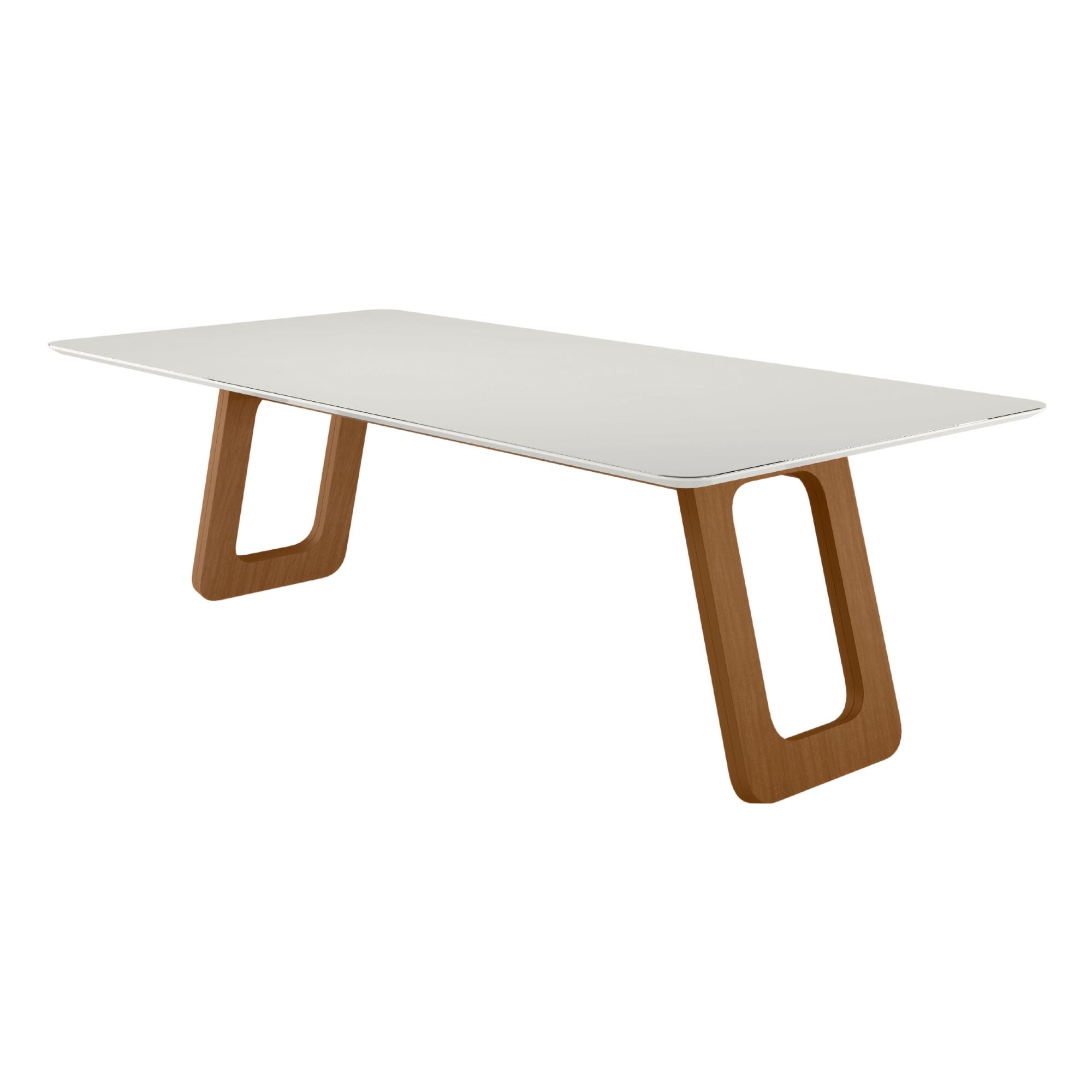 Mesa de Jantar 8 Lugares Retangular Oslo 200 cm x 100 cm