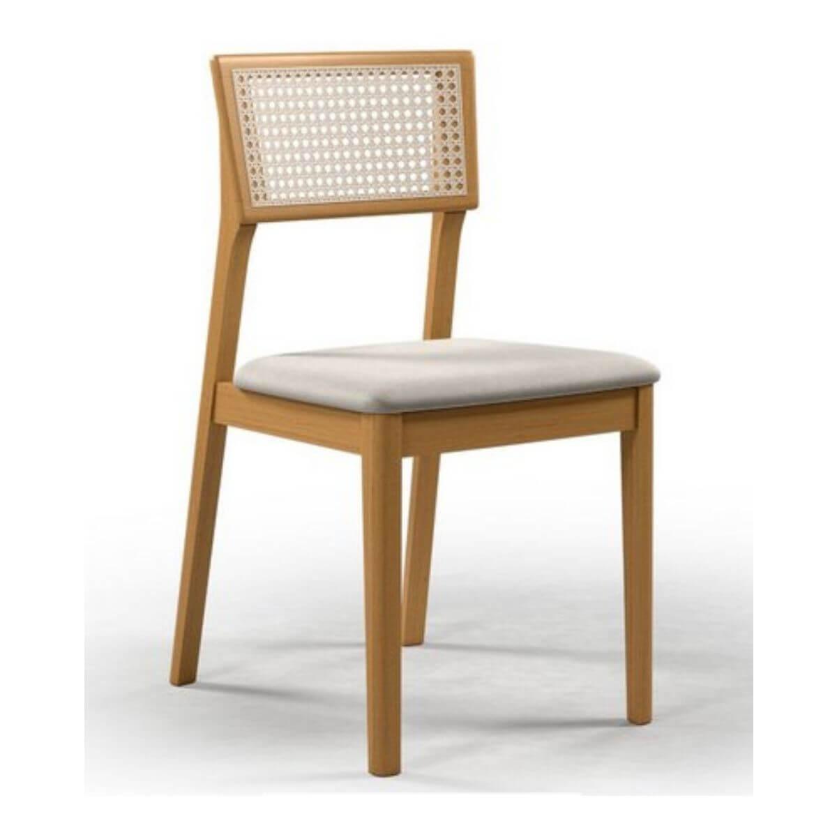 Mesa de Jantar Retangular Espanha Com 4 Cadeiras Ryva  - Formato Móveis e Decorações