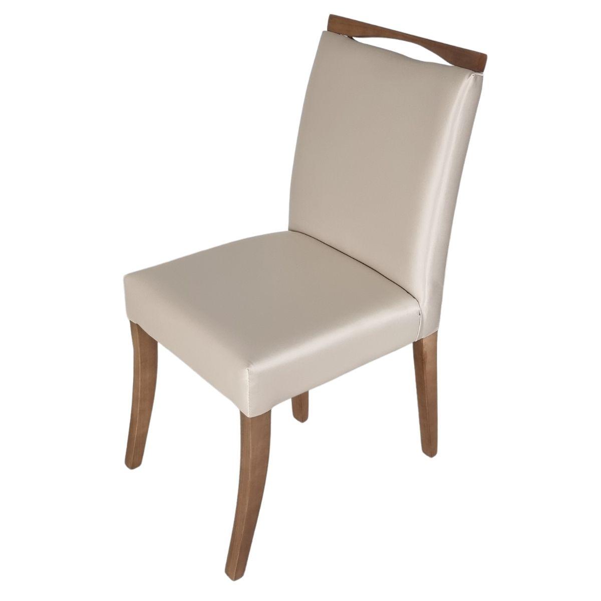 Mesa de Jantar Europa Com 6 Cadeiras Lara  - Formato Móveis e Decorações