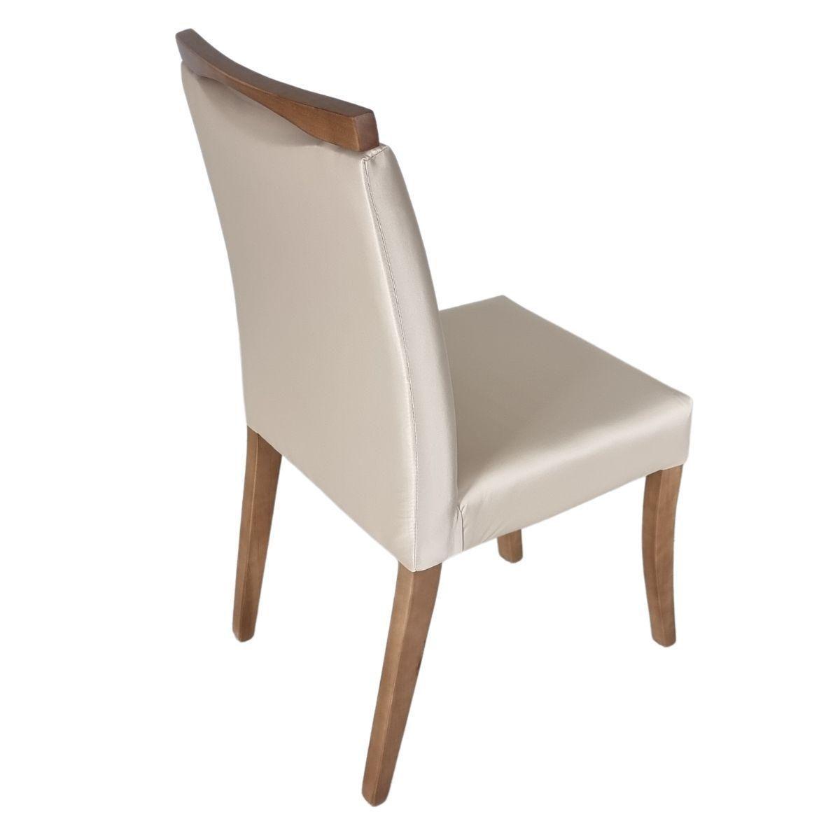 Mesa de Jantar Retangular Eunice Com 6 Cadeiras Lara  - Formato Móveis e Decorações