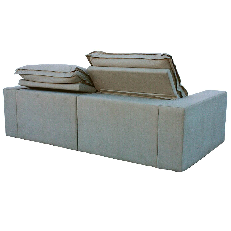 Sofa Retrátil 3 Lugares 230 cm Davos Bege