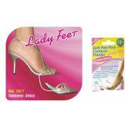 Soft Pad para Conforto Plantar Lady Feet