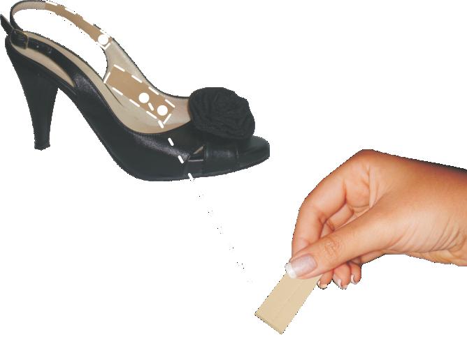 Protetor em Tiras Adesivas Lady Feet