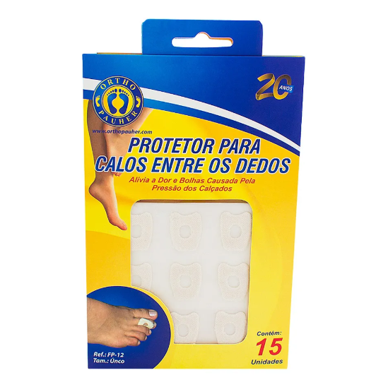 Protetor para Calos entre os Dedos