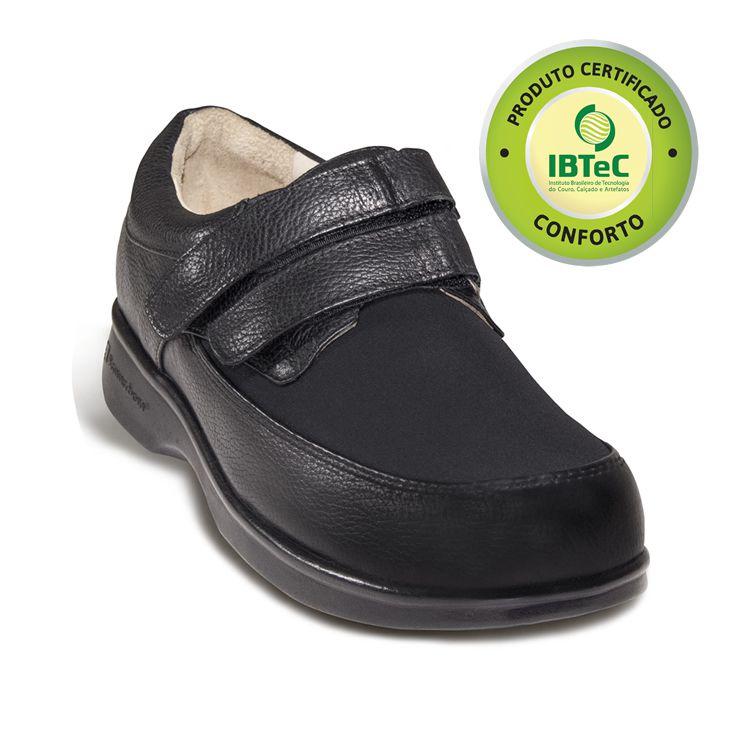 Sapato Masculino Stepper para Diabéticos