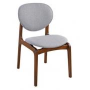 Cadeira de Jantar Atenas - Studium Prime -  Castanho