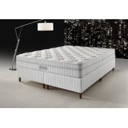 Conjunto Cama Box - DG-430 Visco Gel - Pillow Flat - D Angelis
