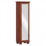 Sapateira Ouro - Porta c/Espelho - 6 Prateleiras - Madeira Maciça, Finestra - Imbuia