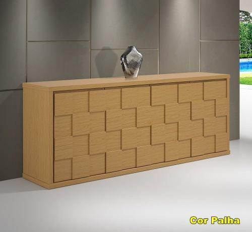 Balção Buffet Napolis - Medidas (a 78cm X L 200cm X P 45cm)