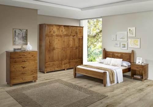 Cama Casal Recanto - Medida (138 X 188cm) - Woods - Imbuia