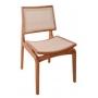 Cadeira de Jantar Iris - Studium Prime - Amêndoa