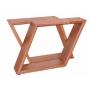 Conjunto Mesa de Jantar Evidence (180cm) Tampo de Vidro -  6 Cadeiras Florença - Castanho
