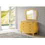 Moldura com Espelho  Jungle - Maxi Amarelo