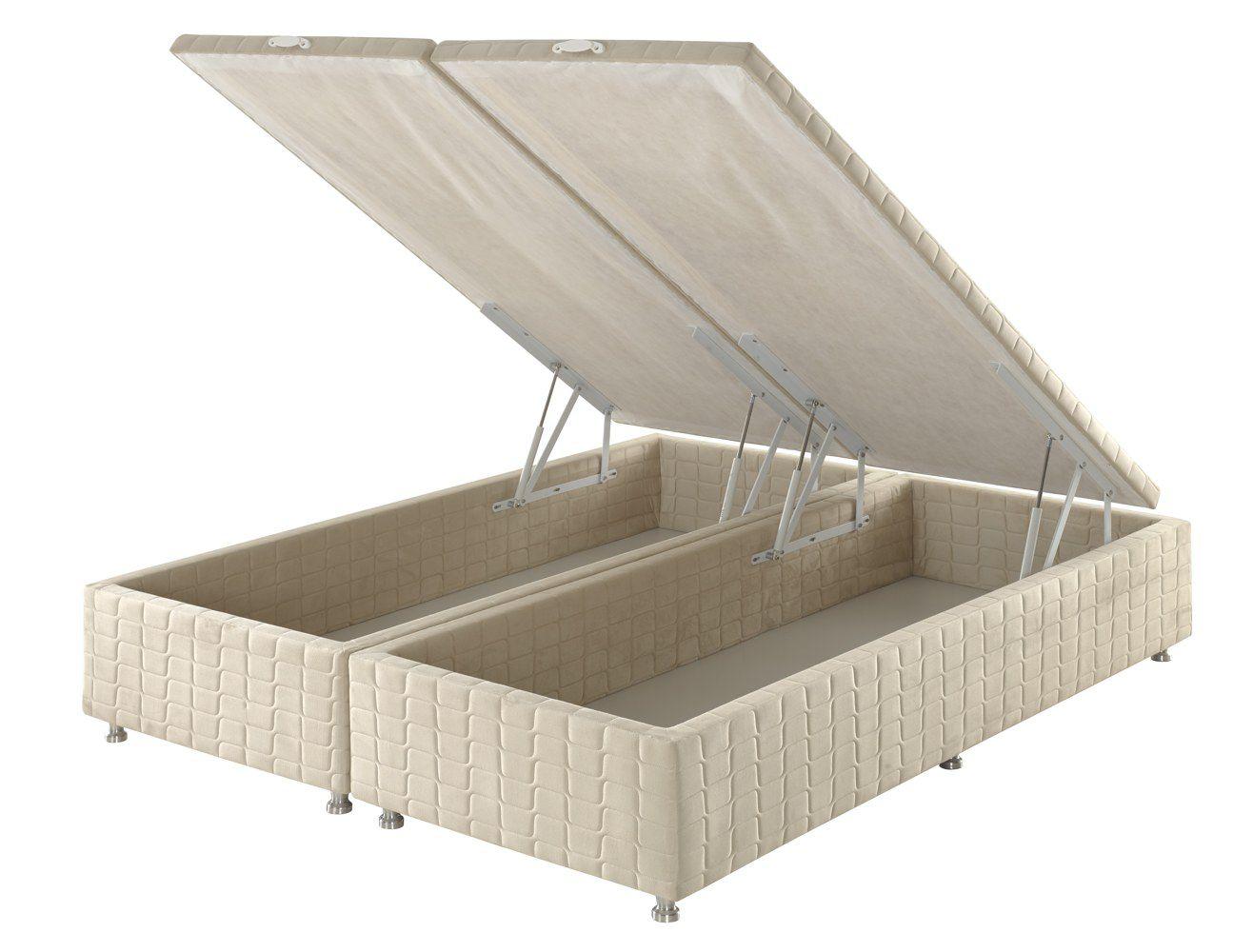 Box para Colchão Angelis com Baú