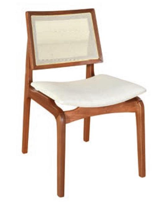 Cadeira de Jantar Amsterdã Studium Prime - Amêndoa