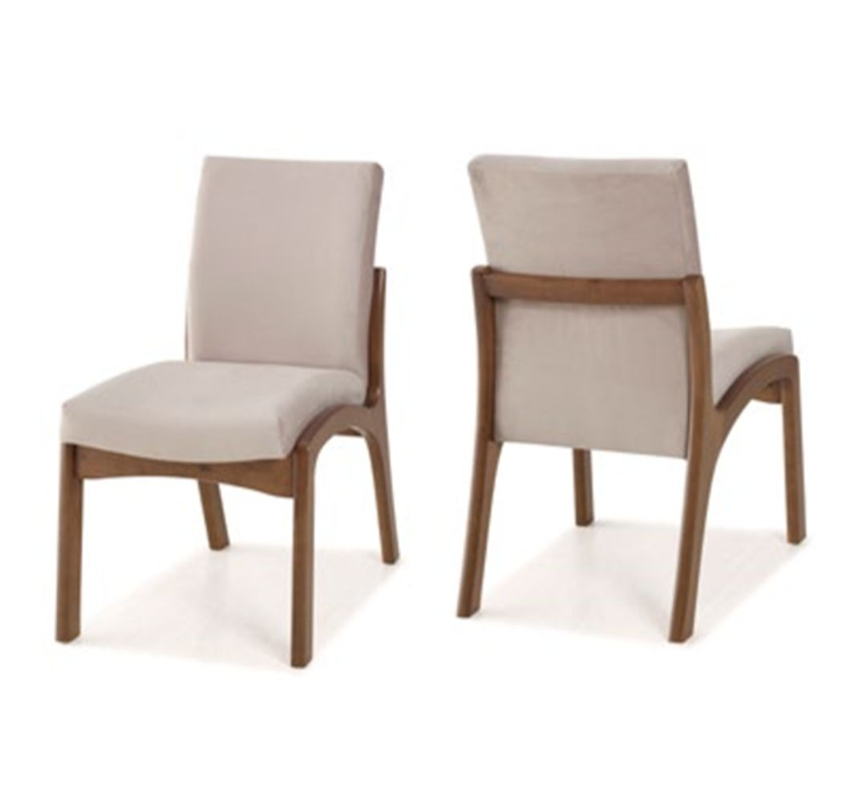 Cadeira de Jantar Classic - Madeira Maciça Tauari - Euclar