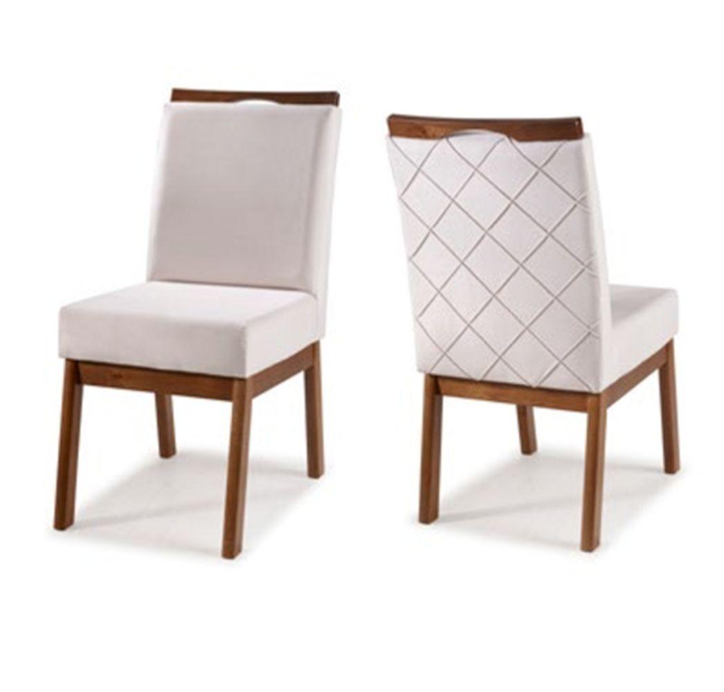 Cadeira de Jantar Retrô II - Madeira Maciça - Euclar