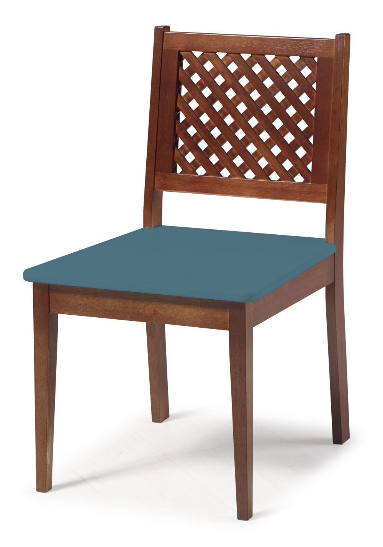 Cadeira Imperial com Encosto em Treliça
