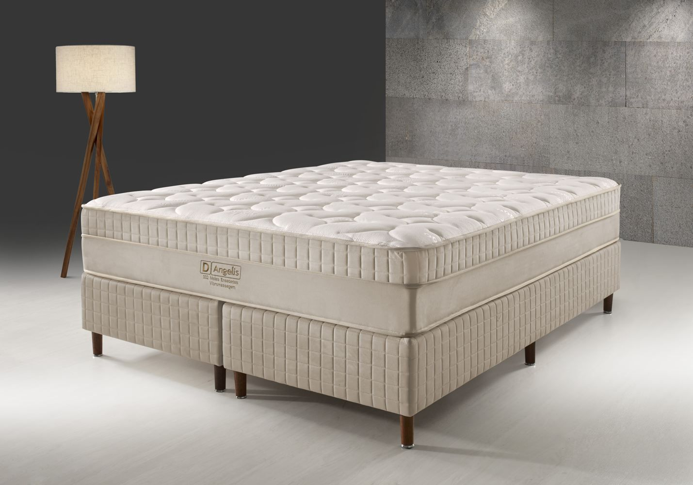 Conjunto Cama Box - DG-332 Visco Gel - D Angelis